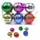 E34 Игрушки №YH-14051-5 новог шары висяч. пл с рис. ромашки 6цв 5см (14,5*9,7*4,8) (216)