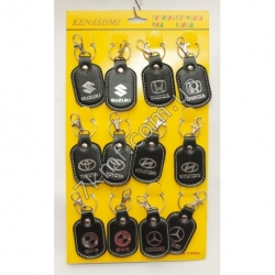 брелки со знаком машины (12 шт. в упаковке)