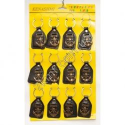 брелки со знаком черепа (12 шт. в упаковке)
