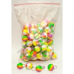 брелки разноцветный шарик (100 шт.в уп)